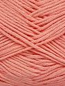 Fiber Content 50% Cotton, 50% Bamboo, Light Salmon, Brand ICE, Yarn Thickness 2 Fine  Sport, Baby, fnt2-41443