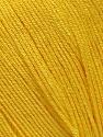 Fiber Content 100% Bamboo, Yellow, Brand ICE, Yarn Thickness 2 Fine  Sport, Baby, fnt2-41459