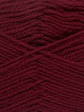 Fiber Content 100% Virgin Wool, Brand ICE, Burgundy, Yarn Thickness 3 Light  DK, Light, Worsted, fnt2-42309