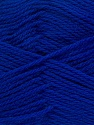 Fiber Content 100% Virgin Wool, Brand Ice Yarns, Bright Blue, Yarn Thickness 3 Light  DK, Light, Worsted, fnt2-42316