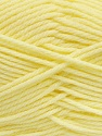 Fiber Content 50% Acrylic, 50% Polyamide, Brand ICE, Baby Yellow, Yarn Thickness 3 Light  DK, Light, Worsted, fnt2-42389