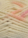Make a knot on the spots part of the yarn while knitting to give a pompom look. Fiber Content 76% Acrylic, 13% Polyamide, 11% Wool, Pink, Lilac, Brand ICE, Cream, Yarn Thickness 5 Bulky  Chunky, Craft, Rug, fnt2-42435