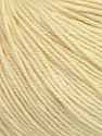 Fiber Content 60% Cotton, 40% Acrylic, Light Lemon Yellow, Brand ICE, Yarn Thickness 2 Fine  Sport, Baby, fnt2-42525