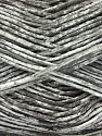 Strong pure cotton yarn in beautiful colours, reminiscent of bleached denim. Machine washable and dryable. Fiber Content 100% Cotton, White, Light Grey, Brand ICE, Yarn Thickness 3 Light  DK, Light, Worsted, fnt2-42556