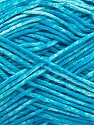 Strong pure cotton yarn in beautiful colours, reminiscent of bleached denim. Machine washable and dryable. Fiber Content 100% Cotton, White, Turquoise, Brand ICE, Yarn Thickness 3 Light  DK, Light, Worsted, fnt2-42574