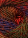 Fiber Content 70% Dralon, 30% Wool, Red, Purple, Brand ICE, Green Shades, Brown Shades, Yarn Thickness 4 Medium  Worsted, Afghan, Aran, fnt2-42775