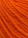 SUPERWASH WOOL BULKY is a bulky weight 100% superwash wool yarn. Perfect stitch definition, and a soft-but-sturdy finished fabric. Projects knit and crocheted in SUPERWASH WOOL BULKY are machine washable! Lay flat to dry. Fiber Content 100% Superwash Wool, Orange, Brand ICE, Yarn Thickness 5 Bulky  Chunky, Craft, Rug, fnt2-42828