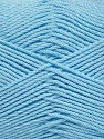 Fiber Content 50% Bamboo, 50% Viscose, Light Blue, Brand ICE, Yarn Thickness 2 Fine  Sport, Baby, fnt2-43037