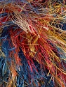Fiber Content 100% Polyester, Yellow, Red, Orange, Brand ICE, Blue, Yarn Thickness 6 SuperBulky  Bulky, Roving, fnt2-43764