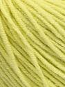 Fiber Content 50% Cotton, 50% Acrylic, Lemon Yellow, Brand ICE, Yarn Thickness 3 Light  DK, Light, Worsted, fnt2-43836