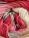 Fiber Content 100% Mercerised Cotton, Pink Shades, Brand ICE, Grey, Cream, Yarn Thickness 2 Fine  Sport, Baby, fnt2-44694