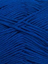 Please note that the yarn weight and the ball length may vary from one color to another for this yarn. Fiber Content 100% Cotton, Royal Blue, Brand ICE, Yarn Thickness 3 Light  DK, Light, Worsted, fnt2-44864