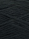 Fiber Content 70% Dralon, 30% Alpaca, Brand ICE, Black, Yarn Thickness 4 Medium  Worsted, Afghan, Aran, fnt2-44925