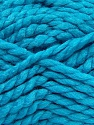 SuperBulky  Fiber Content 55% Acrylic, 45% Wool, Turquoise, Brand ICE, Yarn Thickness 6 SuperBulky  Bulky, Roving, fnt2-45042