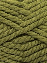 Fiber Content 55% Acrylic, 45% Wool, Khaki, Brand ICE, Yarn Thickness 6 SuperBulky  Bulky, Roving, fnt2-45127