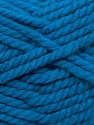 Fiber Content 55% Acrylic, 45% Wool, Brand ICE, Blue, Yarn Thickness 6 SuperBulky  Bulky, Roving, fnt2-45128