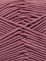 Fiber Content 55% Cotton, 45% Acrylic, Rose Pink, Brand ICE, Yarn Thickness 4 Medium  Worsted, Afghan, Aran, fnt2-45157