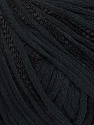 Fiber Content 79% Cotton, 21% Viscose, Brand ICE, Black, Yarn Thickness 3 Light  DK, Light, Worsted, fnt2-45185