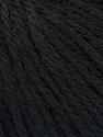 Fiber Content 40% Merino Wool, 40% Acrylic, 20% Polyamide, Brand ICE, Black, Yarn Thickness 3 Light  DK, Light, Worsted, fnt2-45803