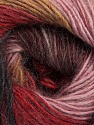 Fiber Content 40% Wool, 30% Acrylic, 30% Mohair, Rose Pink, Red, Maroon, Light Brown, Brand ICE, Black, Yarn Thickness 3 Light  DK, Light, Worsted, fnt2-46085