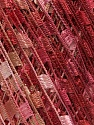 Trellis  Fiber Content 100% Polyester, Salmon, Pink, Brand Ice Yarns, Burgundy, Yarn Thickness 5 Bulky  Chunky, Craft, Rug, fnt2-46512
