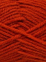 Fiber Content 50% Acrylic, 25% Wool, 25% Alpaca, Brand ICE, Dark Orange, Yarn Thickness 5 Bulky  Chunky, Craft, Rug, fnt2-47142