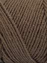 Items made with this yarn are machine washable & dryable. Fiber Content 100% Dralon Acrylic, Brand ICE, Dark Camel, Yarn Thickness 4 Medium  Worsted, Afghan, Aran, fnt2-47174