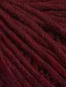 Fiber Content 50% Merino Wool, 25% Alpaca, 25% Acrylic, Brand ICE, Burgundy, Yarn Thickness 5 Bulky  Chunky, Craft, Rug, fnt2-48699