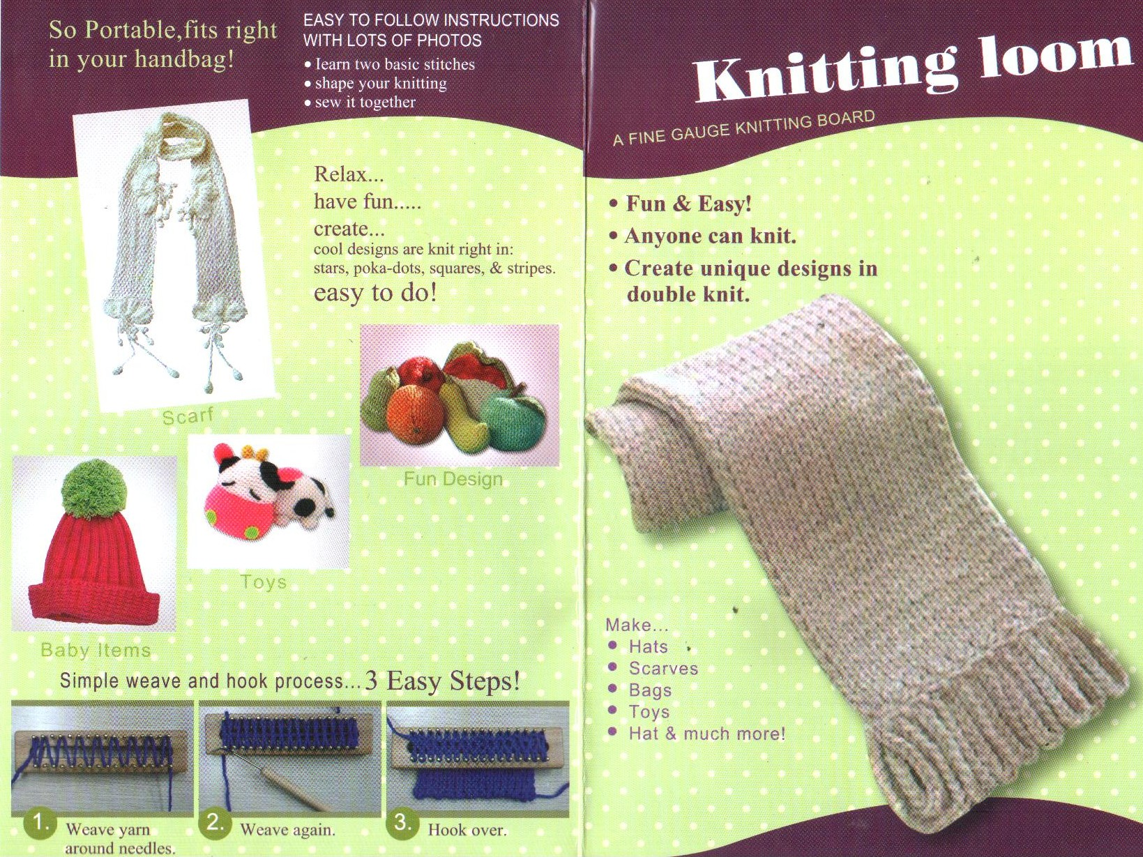 Wooden Knitting Loom at Ice Yarns Online Yarn Store