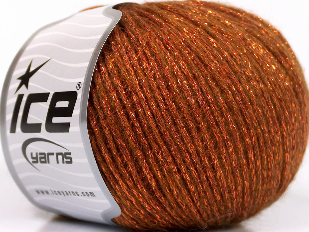 Sale Metallic Copper Brown at Yarn Paradise - photo#46
