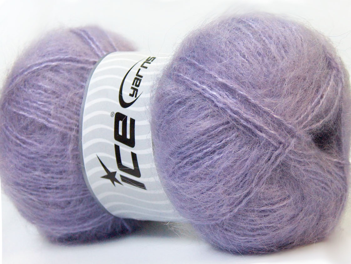 Mohair Lilac At Ice Yarns Online Yarn Store