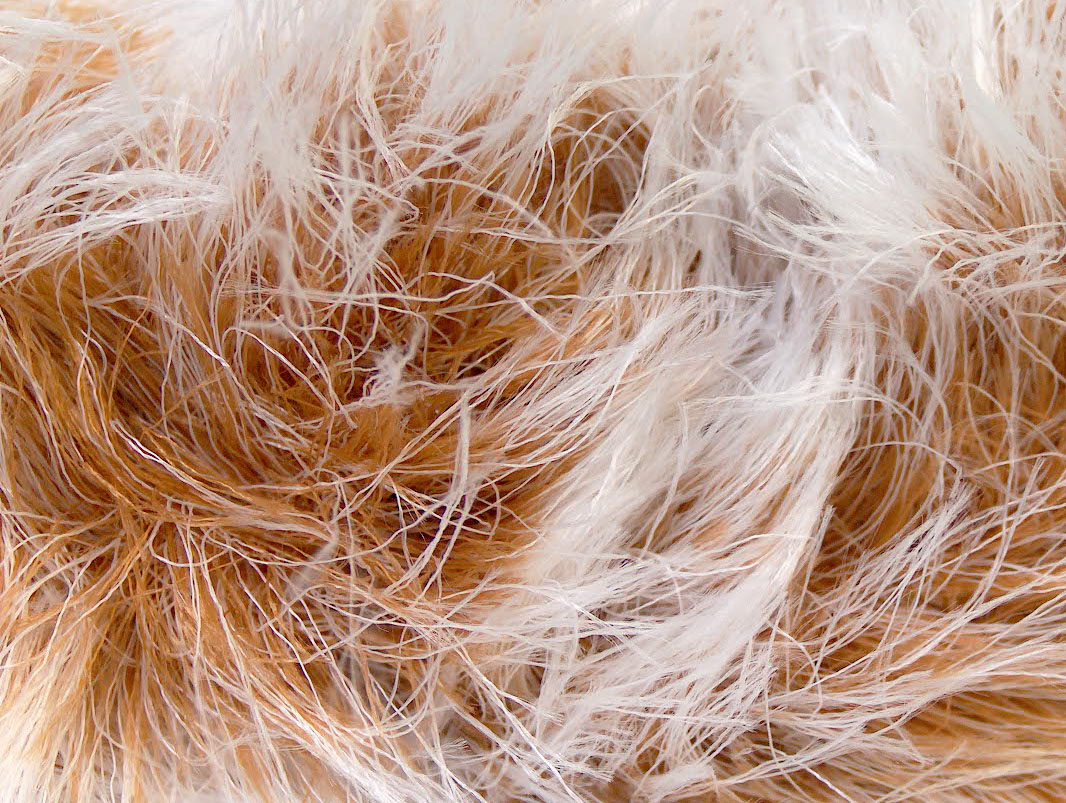 Smooth Fur White Light Brown At Yarn Paradise