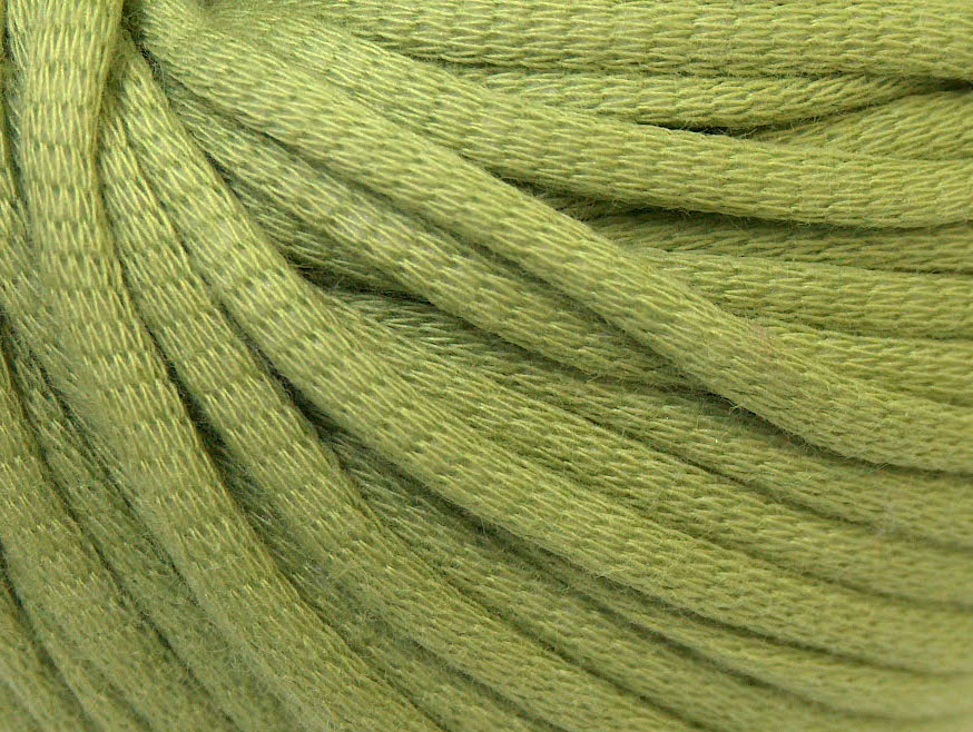 Tube Cotton Light Green at Ice Yarns Online Yarn Store