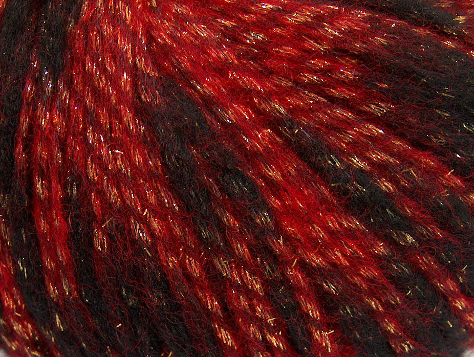 Twinkle Wool Red Gold Black At Yarn Paradise