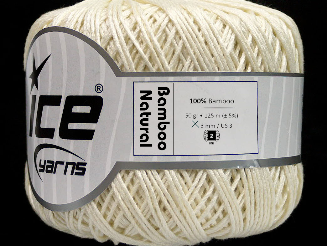 43cdb2e31e3 Bamboo Natural Κρέμ | Ice Yarns Online Yarn Store
