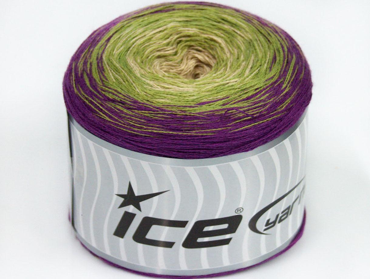 Ice Yarn Cotton Cake Fine
